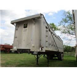 1995 EAST ALUM DUMP TRAILER, VIN/SN:1E1D1P2825PJ16750 - T/A, TARP, 11R24.5 TIRES (COUNTY OWNED)