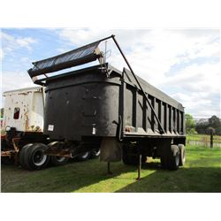 TAYLOR MACHINE R-66-22 DUMP TRAILER, VIN/SN:T-2916 - T/A, 22', 11R24.5 TIRES