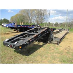 2014 XL SPECIALIZED XL110 HDG LOWBOY TRAILER, VIN/SN:4U3J05330EL014863 - TRI-AXLE, DETACHABLE, NGB,