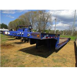 "2007 LEDWELL LW53 LOWBOY TRAILER, VIN/SN:1L9GA73A67L033256 - TRI-AXLE, 53' LENGTH, 102"" WIDE, HYD DO"
