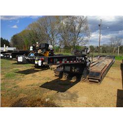 2007 TEREX 553SS LOWBOY TRAILER, VIN/SN:5LKL5335971026447 - TRI-AXLE, DETACHABLE, NGB, 25' WELL, 102