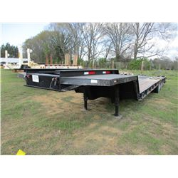 "LOWBOY TRAILER, VIN/SN:93600 - TRI-AXLE, 50 TON, 42' LENGTH, 96"" WIDE, DOVETAIL, RAMPS, MOTOR GRADER"