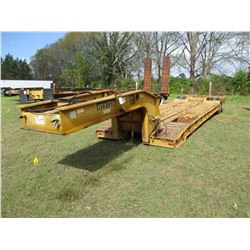 "HYSTER LOWBOY TRAILER, - T/A, GROUND BEARING, 20' WELL, 96"" WIDTH, 10.00R15 TIRES"