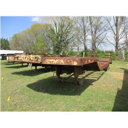 "LOWBOY TRAILER, - 36' LENGTH, 108"" WIDE, MOTOR GRADER RAMPS, DOVETAIL RAMPS"