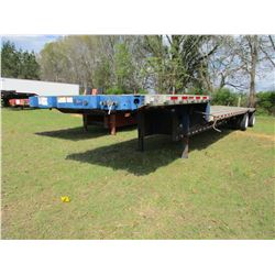 "2003 GREAT DANE STEP DECK TRAILER, VIN/SN:1GRDM90263M012801 - T/A, 45' X 96"", SPREAD AXLE, 255/70R22"