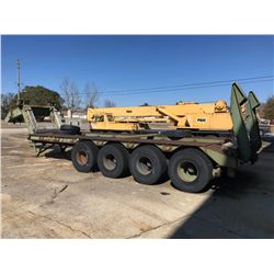 CONSOLIDATED DIESEL ELECTRIC 100T LOWBOY, VIN/SN:2330-00-089-7265 - QUAD AXLE, FIXED NECK, 445/65R19