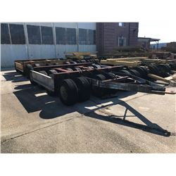 SHOPBUILT 150 TON DOLLIES, - 24 WHEELS EACH (SOLD ABSENTEE) (LOCATED IN PENSACOLA, FLORIDA) (BILL OF
