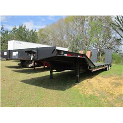 "2004 PITTS LOWBOY TRAILER, VIN/SN:5JYLB35224P041151 - T/A, 46' X 120"", DOVE TAIL, HYD RAMPS, MOTOR G"