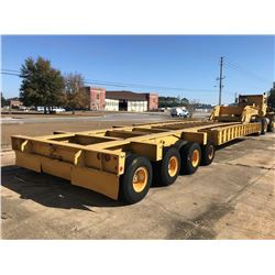 "1975 TALBERT LOWBOY, VIN/SN:CR882 - 200 TON, 56'-7"" LENGTH, 16'-4"" NECK LENGTH, TALBERT TRUNNION SUS"