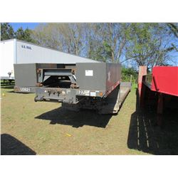 "2008 TRAIL-KING TK90MED-482 LOWBOY TRAILER, VIN/SN:1TKB048258B044817 - TRI-AXLE, 50' LENGTH, 102"" WI"