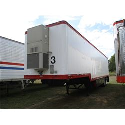 1983 BUDD OFFICE TRAILER, VIN/SN:VA25DE204437 - 44' LENGTH, T/A, BARD A/C UNIT, TOOL BOXES, SLID OUT
