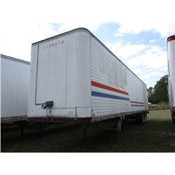 VAN TRAILER, - T/A, 45' LENGTH, ROLL UP DOOR, 11R22.5 TIRES