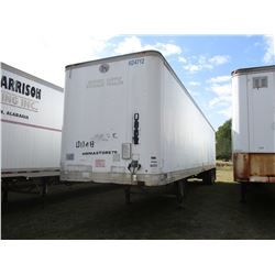 GREAT DANE VAN TRAILER, - T/A, 48', 285/75R24.5 TIRES