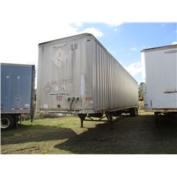 1996 TRAILMOBILE VAN TRAILER, VIN/SN:1PTO3JAH3T9001130 - T/A, 48', 285/75R24.5 TIRES
