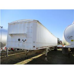 1985 CRESCENT HOPPER TRAILER, VIN/SN:1C9ED4320F1150203 - T/A, 43' LENGTH, 11R22.5 TIRES
