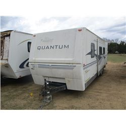 FLEETWOOD QUANTAM TRAVEL TRAILER, VIN/SN:13R1300311111122 - 30' W/SLIDE OUT (STATE OWNED)