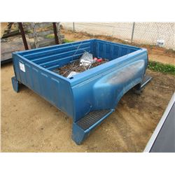PICKUP BED WITH BUMPER