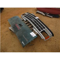 GRILL & TAILGATE FITS PICKUP TRUCK
