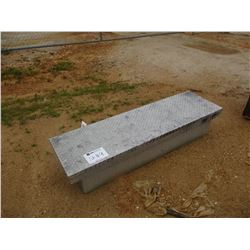 ALUMINUM ABOVE BED TOOL BOX