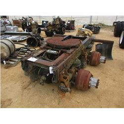 TRUCK TRACTOR T/A, FRAME W/FIFTH WHEEL HITCH