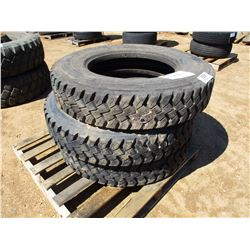 (2) 11R24.5 TIRES