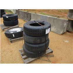 (4) 245/70R17.5 TIRES