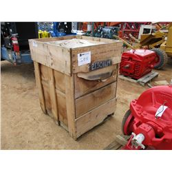 (2) FLOW VALVE TYPE 471, SIZE 100 ACTUATER W/376 SERIES TRIP VALVE (UTILITY COMPANY OWNED)