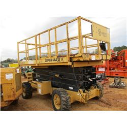 GROVE SM 3884XT MANLIFT, VIN/SN:43967 - 1250# CAP, GAS ENGINE, METER READING 1,317 HOURS