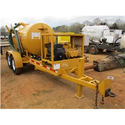 2010 AV-TRON VACUUM SYSTEM, - HYD DUMP TANK, KOHLER GAS ENGINE, MOUNTED ON T/A TRAILER