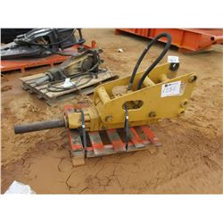 NPK 3XA HYDRAULIC HAMMER, VIN/SN:28724 - *BUCKET ARMS DO NOT LIFT*
