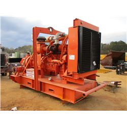 2009 GODWIN HL160M PUMP, VIN/SN:0852900-5 - CAT C-15 DIESEL ENGINE, SKID MOUNTED