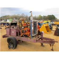 HYD PUMP, JOHN DEERE DIESEL ENGINE, TRAILER MOUNTED