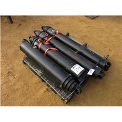 (4) COMMERCIAL INTERTECH HYD CYLINDER