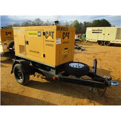 CAT XQ20P2 GENERATOR, VIN/SN:4P00322 - CAT DIESEL ENGINE, TRAILER MTD, METER READING 6,771 HOURS
