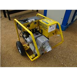 "2013 WACKER NEUSON PTS 4"" WATER PUMP, - VANGUARD 16HP GAS ENGINE, ELEC START"