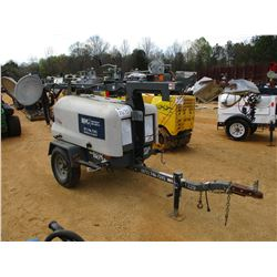 WHACKER LTN 6 LIGHT PLANT GENERATOR, - KOHLER DIESEL ENGINE, METER READING 3,050 HOURS