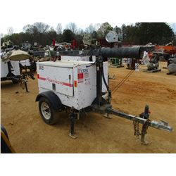 MAGNUM MLT 3060 MMH LIGHT PLANT/GENERATOR, VIN/SN:089827 - DIESEL ENGINE, METER READING 4,175 HOURS