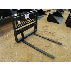 FORK ATTACHMENT FITS SKID STEER LOADER