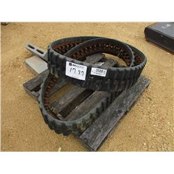 "9"" RUBBER TRACKS FIT SKID STEER LOADER"
