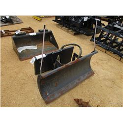 "BOBCAT UTILITY BLADE 48"" FITS SKID STEER LOADER"