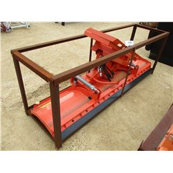 "ANGLE BLADE 94"" SNOW PLOW/ DOZER BLADE COMBO FIT SKID STEER LOADER"