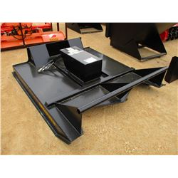 6' BRUSH CUTTER FITS SKID STEER LOADER