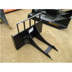 ROCK, SLAB, STUMP REMOVER FOR SKID STEER LOADER