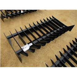 ROOT RAKE FOR SKID LOADER 34.5 X 69.625