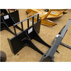 STUMP/ROCK REMOVER, - FITS SKID STEER LOADER