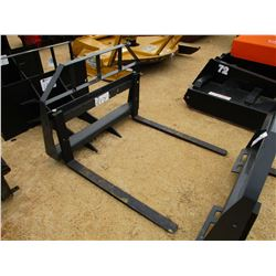 FORK ATTACHMENT, - FITS SKID STEER LOADER