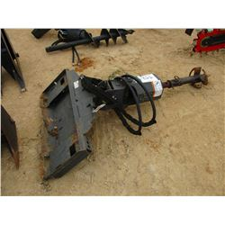 BOBCAT AUGER W/BIT, FIT SKID STEER LOADER