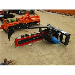 TRENCHER ATTACHMENT FIT SKID STEER LOADER