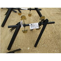 """3"""" X 4"""" AR500 SPINNER TARGET, COLLAPSABLE"""