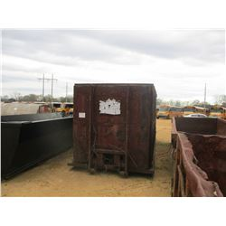 ROLL OFF CONTAINER, - 20', ENCLOSED